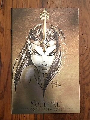SOULFIRE #4D Pittsburgh ComicCon EXCLUSIVE LIMITED EDITION 1:500 NM UNREAD