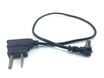 Flash Syncro Cable - PC to Bi post AC - 12in Cord Coupler