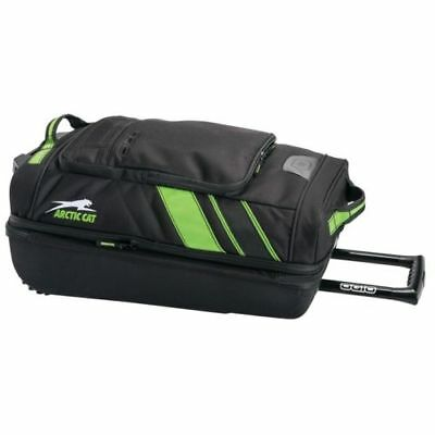 Arctic Cat OGIO Small Roller Bag Carry-on approved - Black & Green - 5262-902