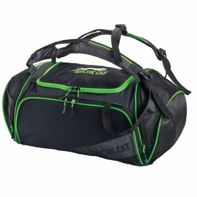 Arctic Cat OGIO Duffle Bag With Shoulder Straps - Black & Green - 5262-903