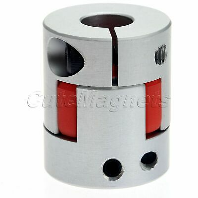 8mmX10mm Plum Flower Type Coupler Clutch With Clamp Forward Revers Use Coupling