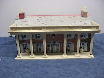 Lot #2485 Vintage Marx Civil War Playset Mansion tin litho building 1/32