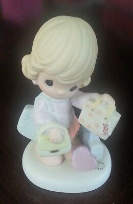 Precious Moments # 120105 - Purse-Suit of Happiness 2004 Figurine