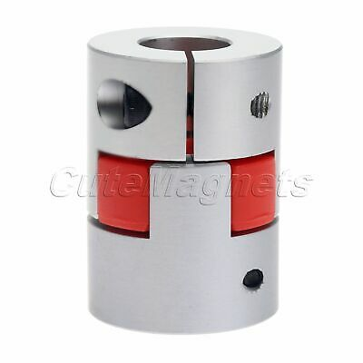 Coupler Clutch With Clamp Forward Revers Use Coupling 10mmX14mm Plum Flower Type