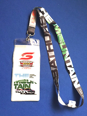 Bathurst 2017 Supercheap Auto Ticket Holder & Laynard x 1