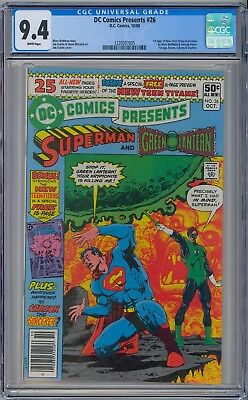 Dc Comics Presents #26 - Cgc 9.4 Wp Nm 1St New Teen Titans Cyborg Raven Starfire