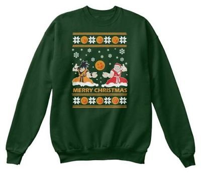 Dragonball Z Christmas Sweaters