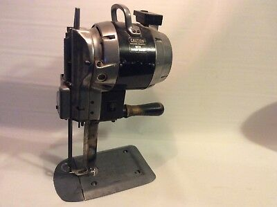 Eastman Straight Knife Brute Fabric Cutting Machine In Good Working Condition.
