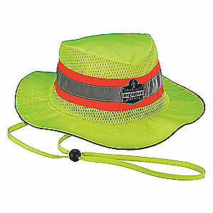 CHILL-ITS BY ERGODYNE Cooling Hat,Lime,S/M,PVA And Polyester, 8935CT, Lime