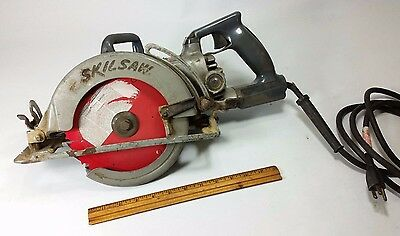 """Skilsaw HD77 7-1/4"""" Worm Drive Saw, tool WORKS! circular wood contractor"""