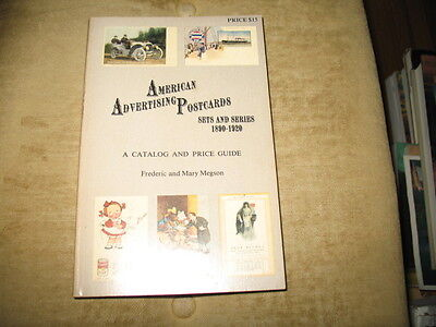 American Advertising Postcards  Sets Series 1890-1920 by F + M Megson  PB illust