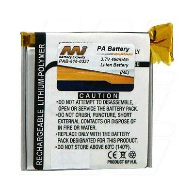 Apple iPod Nano 3rd Gen Battery - 616-0337