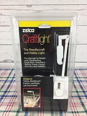 Vintage NEW sealed Zelco Craft Light (makers of the itty bitty book light)