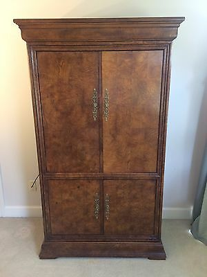 "Henredon Large Armoire Entertainment Center TV Cabinet Closet 72"" x 42"" x 21"""