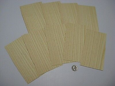 1 Lot Of 9Pcs Quartered White Ash Raw Veneer Shorts, Lot #744Qt