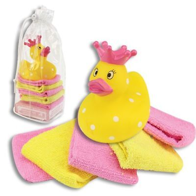 Cribmates  Princess Duck with Washcloths