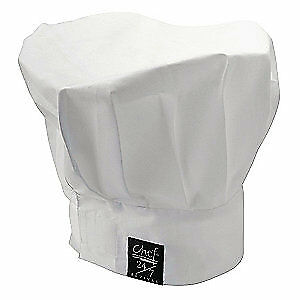 CHEF REVIVAL Chef Hat,White,13 Inch Tall, H400WH, White