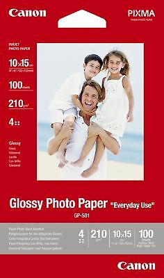 "Canon new Glossy Photo Paper 4""x6"" (100 Sheets)"