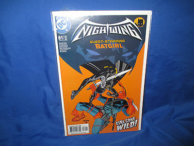 NIGHTWING #81 (VF/NM) 2003 NIGHTWING vs DEATHSTROKE BATGIRL APPEARANCE DC Comics