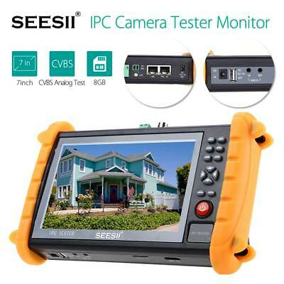 "IPC 9600S Tester Monitor Camera 7"" HD CVBS Video HDMI WIFI ONVIF 1280×800 PoE"