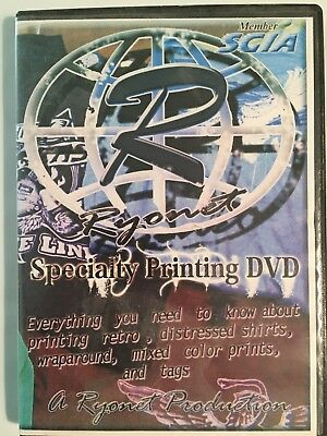 Ryonet Specialty Printing  Graphics Design How To Instruction DVD
