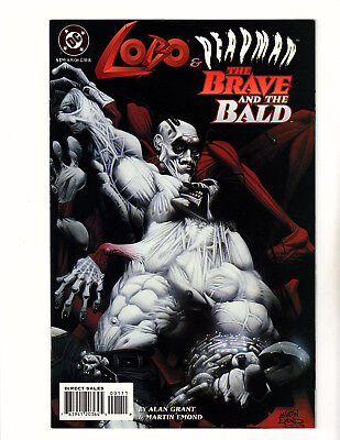 Lobo/Deadman: The Brave and the Bald #nn (1995, DC) NM- Alan Grant Martin Emond