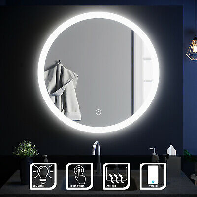 Bathroom Mirror LED Illuminated Touch Switch Wall mounted New Arrived