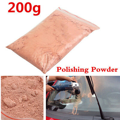 200g Red Cerium Oxide Glass Polishing Compound Powder For Car Windows Craft Tool