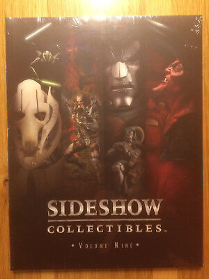 Sideshow Collectibles VOLUME NINE Star Wars, Alien, etc-Catalog #9 shrinkwrapped