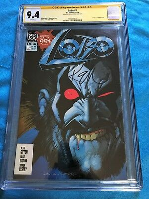 Lobo #1 (1990) - DC - CGC SS 9.4 NM - Signed by Keith Giffen