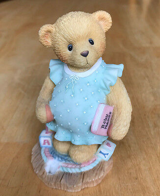 Cherished Teddies ANXIOUSLY AWAITING THE ARRIVAL 476978 Bear Expecting Baby