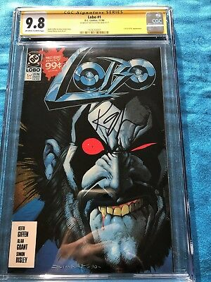Lobo #1 (1990) - DC - CGC SS 9.8 NM/MT - Signed by Keith Giffen