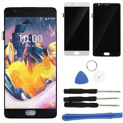 LCD Screen Display + Digitizer Touch Glass Frame For OnePlus 3 Three A3000 A3003