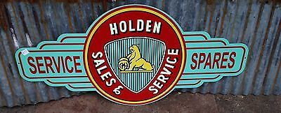 Holden Premuim Old Logo metal tin sign bar garage - Free Postage Buy me