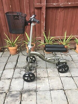 Knee Scooter with removable Basket Spry Knee Cruiser