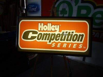 Holley Competition Florescent Lighted Sign