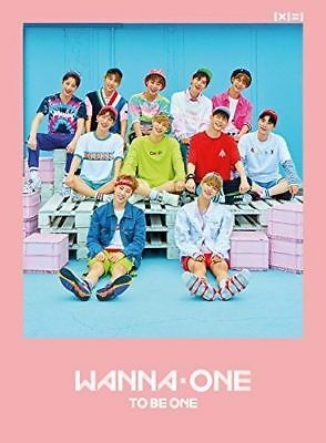 WANNA ONE [1x1=1 TO BE ONE] 1st MINI: CD+PHOTOCARD+COVERCARD+BOOKLET, Pink ver.