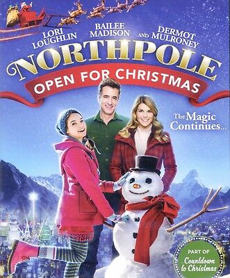 Northpole 2 Open For Christmas 2015 Hallmark family holiday movie, new DVD elves