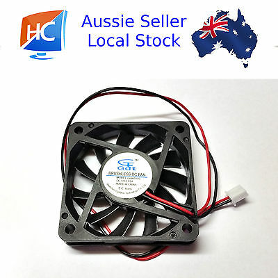 Cooling Fan 5V 60mm x 60mm x 10mm Brushless Fan 2 pin GDT -  ## PRIORITY POST ##