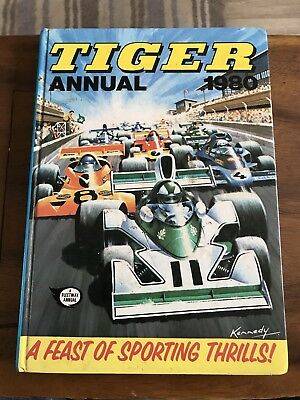 1980 TIGER annual - A Feast of Sporting Thrills!