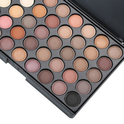 Cosmetic Matte Eyeshadow Cream Eye Shadow Makeup Palette Shimmer Set 40 Color QF