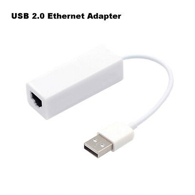 USB 2.0 To Fast Ethernet 10/100 Mbps RJ45 Network Card Lan Adapter Dongle Useful
