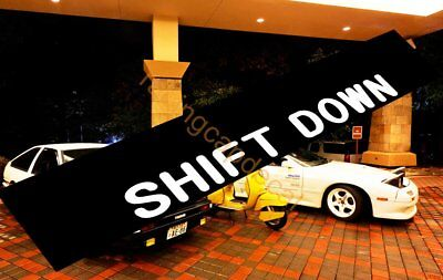 Initial D SHIFT DOWN Sun Strip Visor Windshield Decal Sticker for rx7 civic gtr