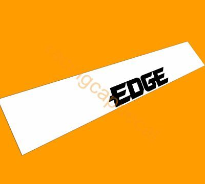 Edge Castrol Sun Strip Visor Windshield Windscreen Decal Sticker for DTM bmw gt3