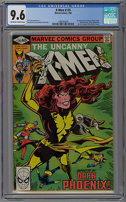Xmen 135 CGC 9.6  Dark Phoenix Saga.  Off-White to White Pages.