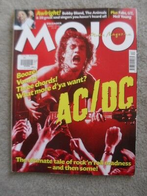 ACDC Angus Malcolm Young UK MOJO Rock Music Magazine U2 Neil Young Animals