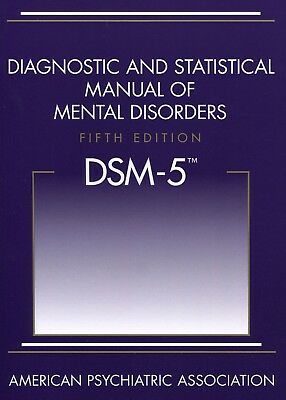 DSM-5 Good Diagnostic and Statistical Manual of Mental Disorders 5th Edition APA