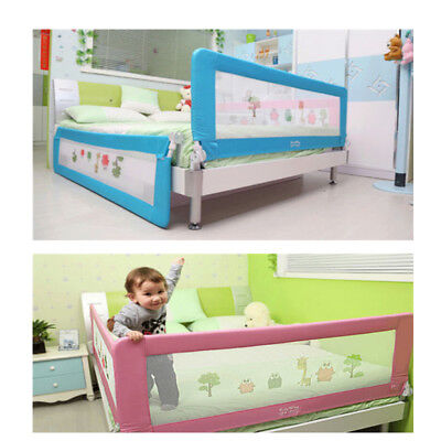 150cm 180cm Child Infant Baby Bed Rail Safety Protection Guard Folding Down