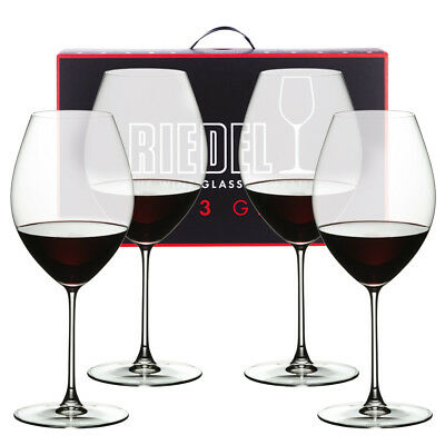 NEW Riedel Veritas Old World Syrah Pay for 3 Get 4 Pack