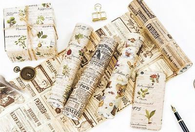 Washi Paper Tape Masking DIY Decorative ultra wide Roll Adhesive Gift idea 20cm